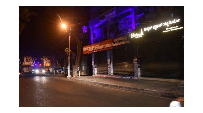 Weekend lockdown and night curfew