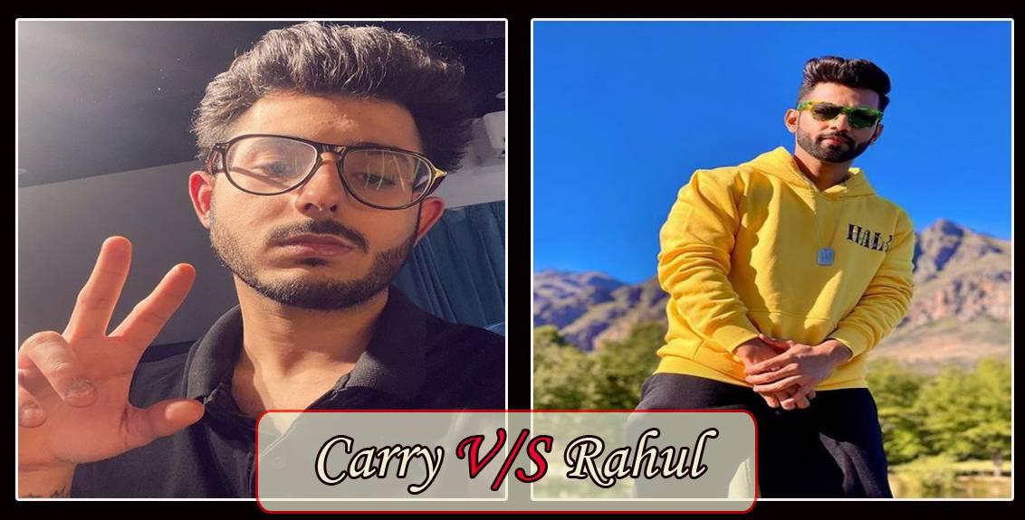 rahul vaidya responded to carry minati video